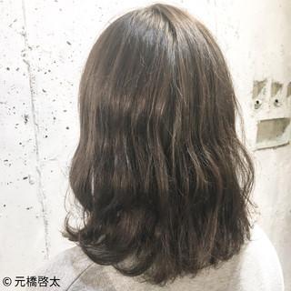 ナチュラル ミディアム 外国人風 くせ毛風 ヘアスタイルや髪型の写真・画像