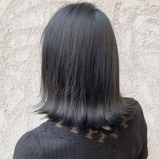 ボブ ナチュラル ブリーチなし 透明感カラー ヘアスタイルや髪型の写真・画像