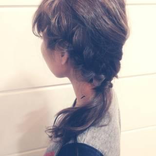 結婚式 ヘアアレンジ ロング ショート ヘアスタイルや髪型の写真・画像