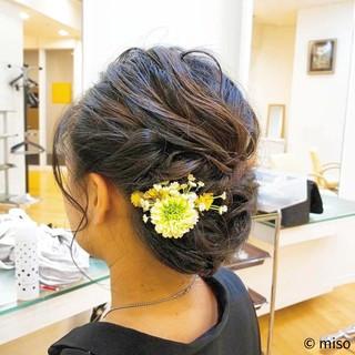 和装 夏 お祭り 上品 ヘアスタイルや髪型の写真・画像