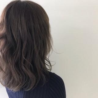 ヘアアレンジ ミディアム デート ナチュラル ヘアスタイルや髪型の写真・画像 ヘアスタイルや髪型の写真・画像