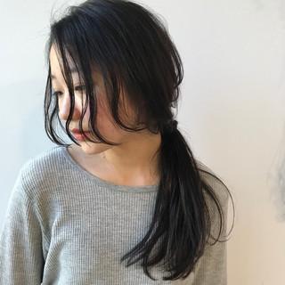 デート 女子会 ナチュラル ミディアム ヘアスタイルや髪型の写真・画像