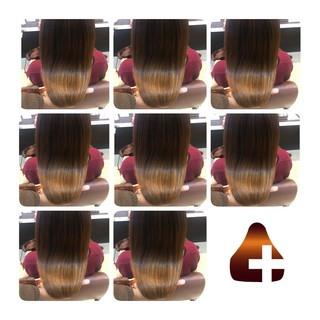 髪の病院 ナチュラル セミロング トリートメント ヘアスタイルや髪型の写真・画像