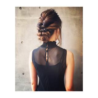 二次会 デート ヘアアレンジ ロング ヘアスタイルや髪型の写真・画像 ヘアスタイルや髪型の写真・画像