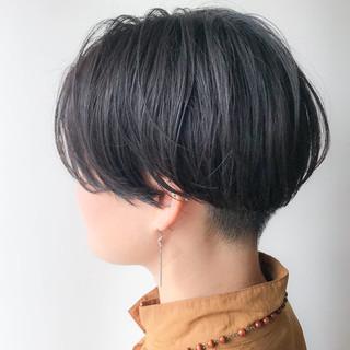 女子力 ショートボブ オフィス ナチュラル ヘアスタイルや髪型の写真・画像