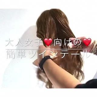 デート フェミニン 女子会 アウトドア ヘアスタイルや髪型の写真・画像