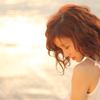 ミディアム かわいい ゆるふわ モテ髪 ヘアスタイルや髪型の写真・画像 ヘアスタイルや髪型の写真・画像