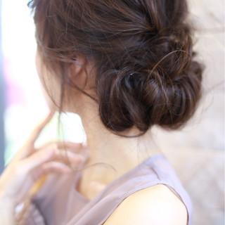 外国人風 簡単ヘアアレンジ ロング パーティ ヘアスタイルや髪型の写真・画像