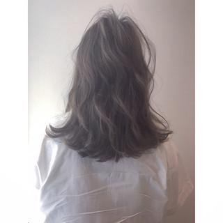 透明感 ナチュラル 大人かわいい 秋 ヘアスタイルや髪型の写真・画像
