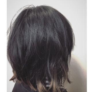 スポーツ アンニュイほつれヘア ボブ ヘアアレンジ ヘアスタイルや髪型の写真・画像