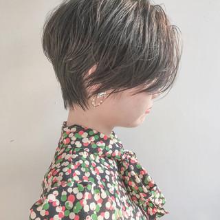 ナチュラル ショート ショートボブ 大人女子 ヘアスタイルや髪型の写真・画像