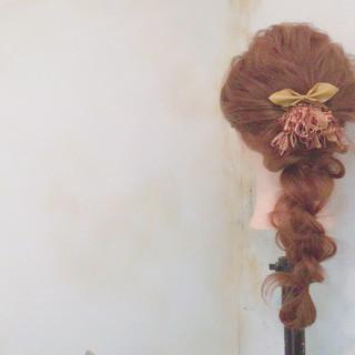 ロング ナチュラル ショート 簡単ヘアアレンジ ヘアスタイルや髪型の写真・画像