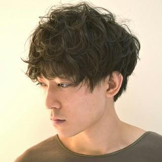 マッシュ ストリート ショート 黒髪 ヘアスタイルや髪型の写真・画像