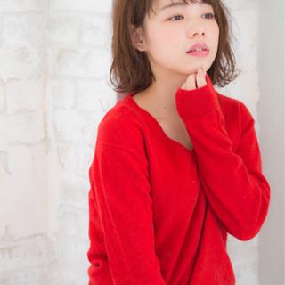 小顔 大人女子 黒髪 ニュアンス ヘアスタイルや髪型の写真・画像