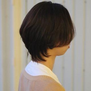 マッシュウルフ ショート ウルフカット モード ヘアスタイルや髪型の写真・画像