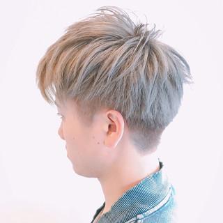 メンズ ボーイッシュ ストリート 爽やか ヘアスタイルや髪型の写真・画像