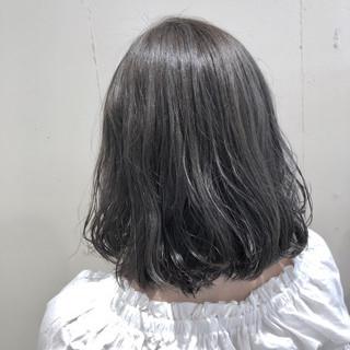 ボブ ウェーブ ガーリー 外国人風カラー ヘアスタイルや髪型の写真・画像