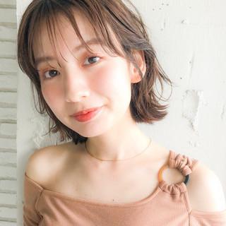 デジタルパーマ 大人かわいい 大人女子 外ハネボブ ヘアスタイルや髪型の写真・画像