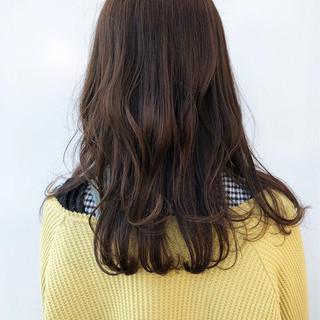 大人かわいい セミロング 透明感カラー ナチュラル ヘアスタイルや髪型の写真・画像 ヘアスタイルや髪型の写真・画像