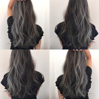 ストリート イルミナカラー 外国人風カラー ハイトーン ヘアスタイルや髪型の写真・画像