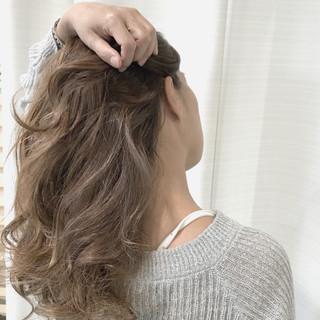簡単ヘアアレンジ ヘアアレンジ ロング オフィス ヘアスタイルや髪型の写真・画像