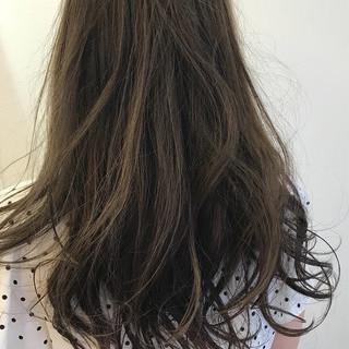 ロング ガーリー 外国人風 ヘアアレンジ ヘアスタイルや髪型の写真・画像