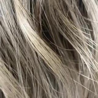 大人ハイライト 3Dハイライト ハイライト ロング ヘアスタイルや髪型の写真・画像
