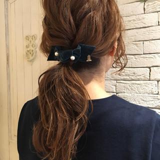 アッシュ セミロング 外国人風 大人女子 ヘアスタイルや髪型の写真・画像