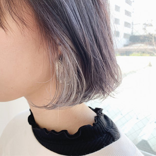 外国人風カラー 簡単ヘアアレンジ ヘアアレンジ インナーカラー ヘアスタイルや髪型の写真・画像
