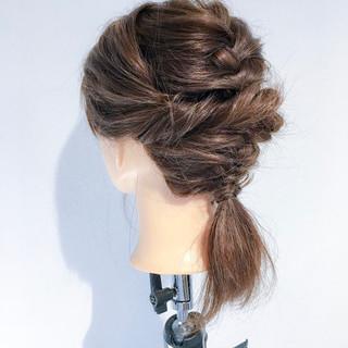 ナチュラル アウトドア オフィス 簡単ヘアアレンジ ヘアスタイルや髪型の写真・画像