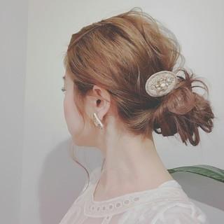 フェミニン ロング 大人かわいい ゆるふわ ヘアスタイルや髪型の写真・画像