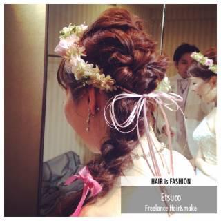 コンサバ モテ髪 波ウェーブ ゆるふわ ヘアスタイルや髪型の写真・画像