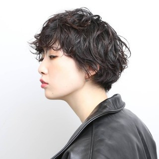 PEEK-A-BOO 似合わせカット ショート 阿藤俊也 ヘアスタイルや髪型の写真・画像