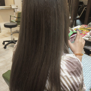 外国人風カラー 冬 セミロング ダブルカラー ヘアスタイルや髪型の写真・画像