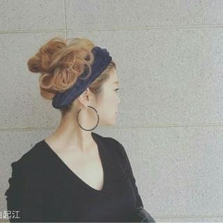 大人かわいい ロング フェミニン ゆるふわ ヘアスタイルや髪型の写真・画像