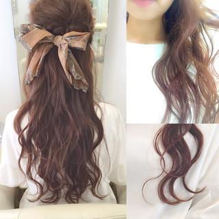 ヘアアレンジ ロング ショート パーマ ヘアスタイルや髪型の写真・画像