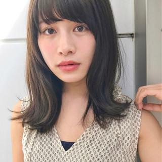 フェミニン リラックス 前髪あり 秋 ヘアスタイルや髪型の写真・画像