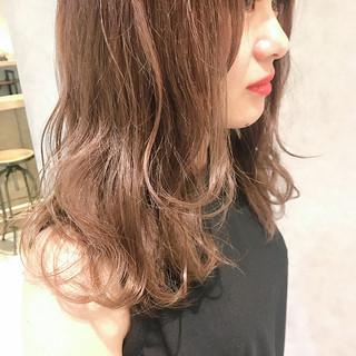 透明感 ヘアアレンジ オフィス エフォートレス ヘアスタイルや髪型の写真・画像