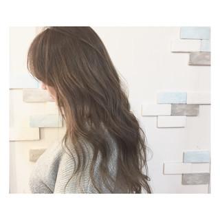 ロング 大人女子 春 ハイライト ヘアスタイルや髪型の写真・画像