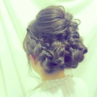ヘアアレンジ 愛され モテ髪 アップスタイル ヘアスタイルや髪型の写真・画像