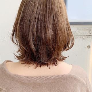 ウルフカット ガーリー 外ハネボブ ボブ ヘアスタイルや髪型の写真・画像