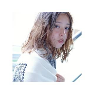 愛され ストリート モテ髪 外国人風 ヘアスタイルや髪型の写真・画像