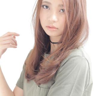 コンサバ 大人かわいい 外国人風 ロング ヘアスタイルや髪型の写真・画像
