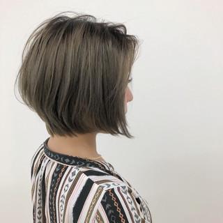 大人かわいい ショート 透明感 エアリー ヘアスタイルや髪型の写真・画像