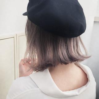 外国人風 ストリート 外ハネ ロブ ヘアスタイルや髪型の写真・画像