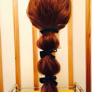 ナチュラル ローポニーテール ロング 大人かわいい ヘアスタイルや髪型の写真・画像 ヘアスタイルや髪型の写真・画像