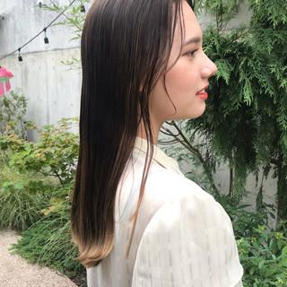 抜け感 透明感 ナチュラル デート ヘアスタイルや髪型の写真・画像