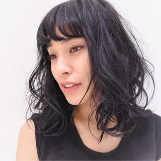 ゆるふわ 色気 モード 黒髪 ヘアスタイルや髪型の写真・画像