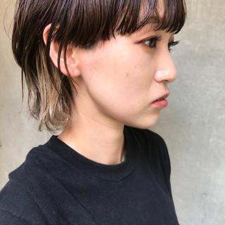 モード 涼しげ アウトドア デート ヘアスタイルや髪型の写真・画像