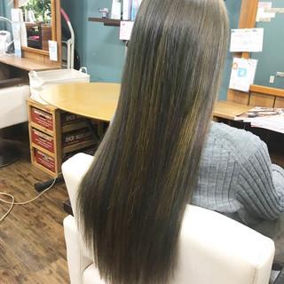 エクステ デート ロングヘアスタイル ロングヘア ヘアスタイルや髪型の写真・画像